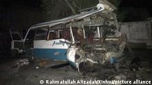 Afghanistan Anschläge in Kabul