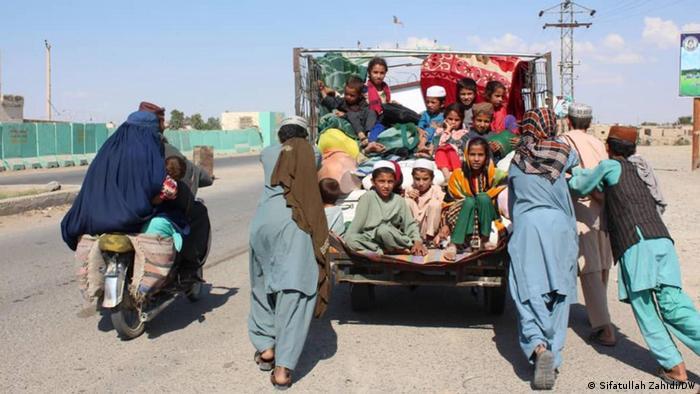 تصویری از آوارگان و بیخانمانهای افغانستان