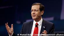 Israel neu gewählter Präsident Izchak Herzog