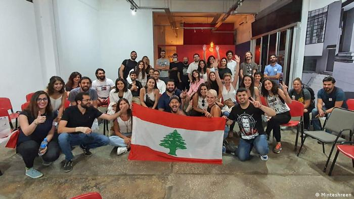Aktivistengruppe Minteshreen aus dem Libanon
