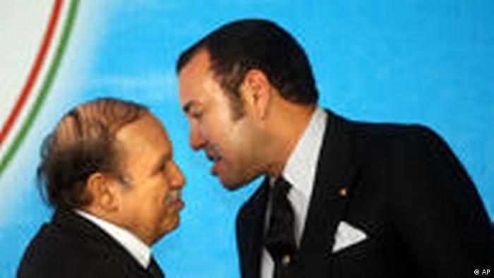 Abdelaziz Boutaflika und König Mohammed VI
