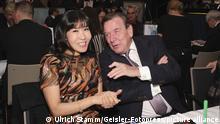 Gerhard Schröder mit Ehefrau Kim So-yeon