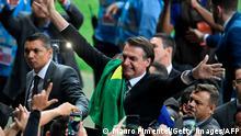 Copa America Brazil 2019 | Brasilien Präsident Jair Bolsonaro