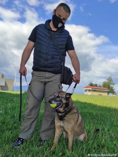 Nord-Mazedonien Belgischer Suchhunde Rex