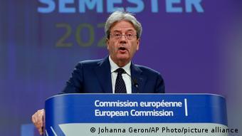 Ο Επίτροπος Πάολο Τζεντιλόνι