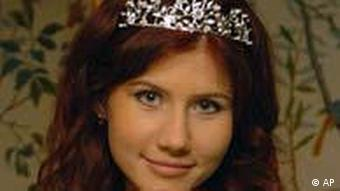 FILE - This undated file image taken from the Russian social networking website Odnoklassniki, or Classmates, shows a woman journalists have identified as Anna Chapman, who appeared at a hearing Monday, June 28, 2010 in New York federal court. Chapman, along with 10 others, was arrested on charges of conspiracy to act as an agent of a foreign government without notifying the U.S. attorney general. The caption on Odnoklassniki reads Russia, Moscow. London, Stone age. (AP Photo, File) NO SALES