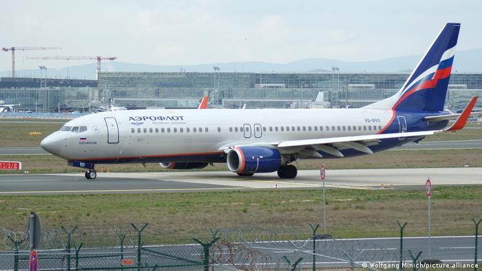 Aeroflot Airbus A320 Flugzeug Flughafen Frankfurt