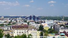 3165083 08/02/2017 View of the Podil and Troieshchyna neighborhoods in Kiev. Stringer/Sputnik Foto: Stringer/Sputnik/dpa