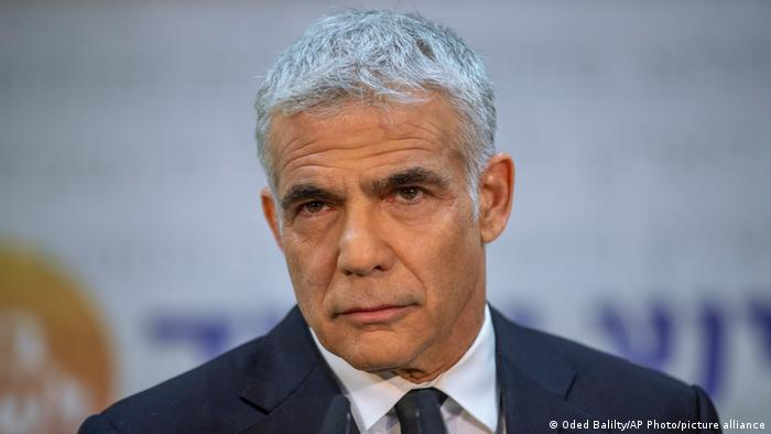 Yair Lapid, the Israeli foreign minister