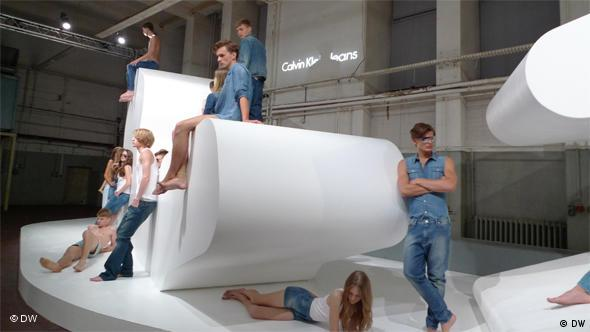 The World of Calvin Klein at the 2010 Berlin Fashion Week