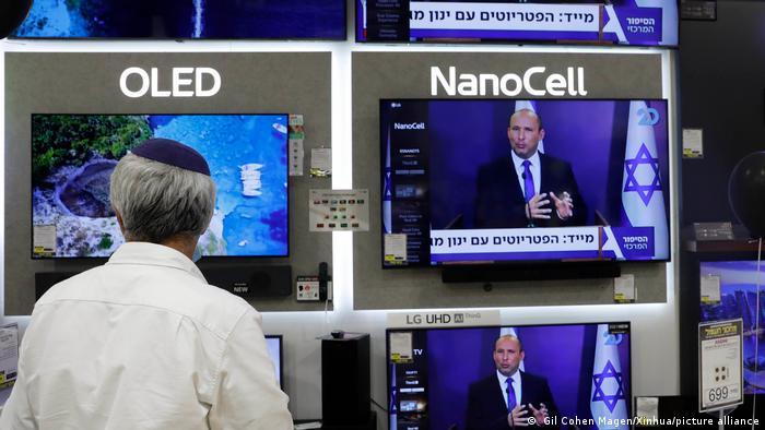 Isreal | Naftali Bennett der Yamina Paretei im TV