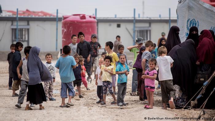 Syrien   al-Hol Camp   Kinder