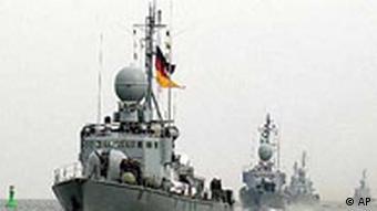 Schnellboote der Deutschen Marine kehren vom Horn von Afrika in den Hafen Warnemünde zurück