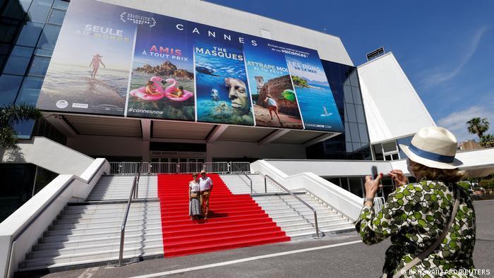 Tapete vermelho em Cannes