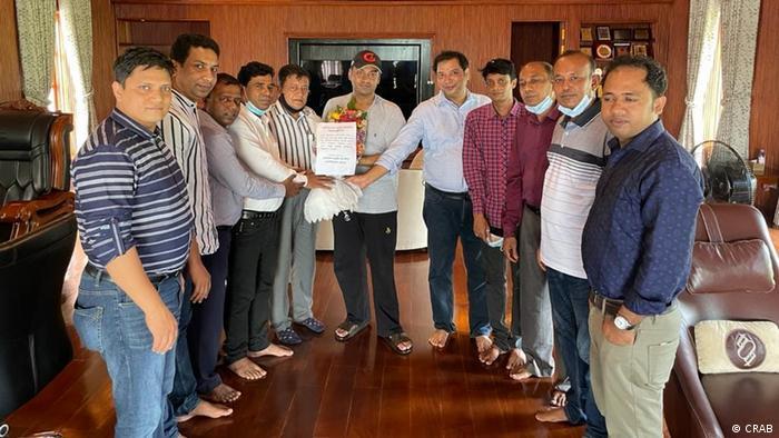 Bangladesh Crime Reporters Association of Bangladesh (CRAB) Mitglieder