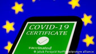Сертификат вакцинации в ЕС