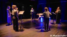گروه کر در جشنواره موسیقی ایرانی فرشی از آوا