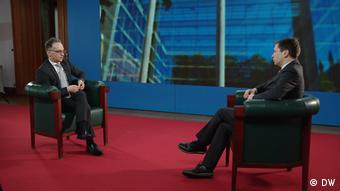 German Foreign Minister Heiko Maas in DW interview