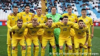 EURO 2020 Fußball Qualifikation Mannschaft Ukraine