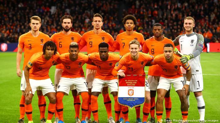 EURO 2020 Fußball Qualifikation Mannschaft Niederlande