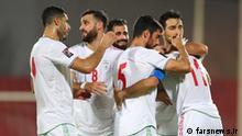 Iran Fußballnationalmannschaft gegen Hongkong