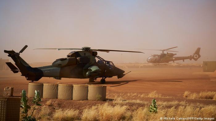 Francuska helikopter u Maliju