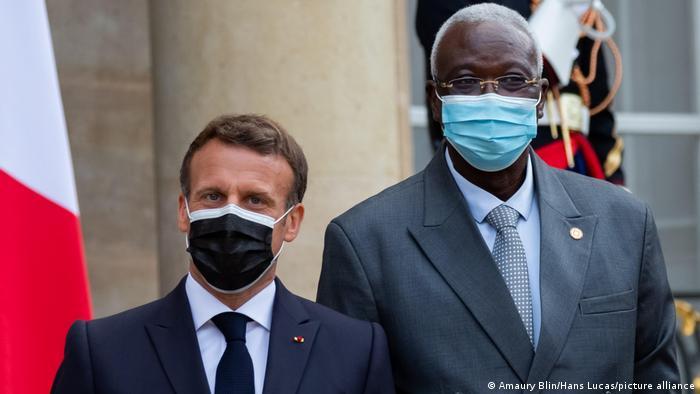 Le 17 mai 2021, c'était encore Bah N'Daw qui représentait le Mali à la conférence de Paris sur le financement des économies africaines
