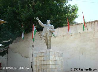 Памятник Ленину в Калайхумбе, Таджикистан