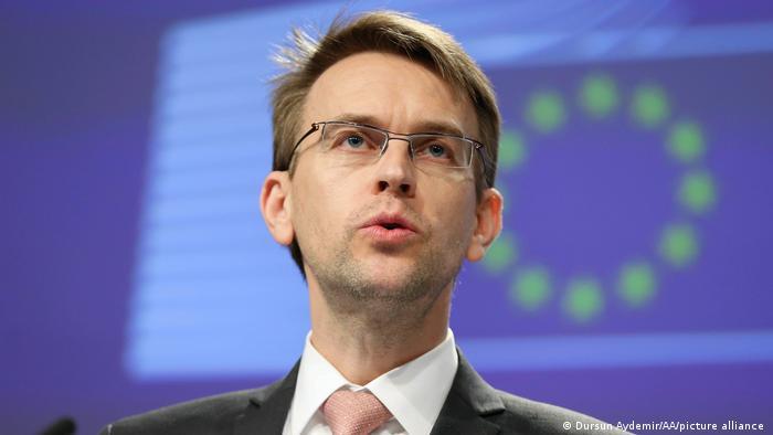 Петер Стано, пресс-секретарь Европейской службы внешнеполитической деятельности