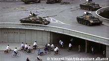 Archivbild I China I Tiananmen I Studentenproteste 1989