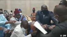 Screenshot I Ausschreitungen zwischen Politikern in Guinea-Bissau