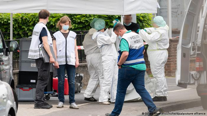 Forensics in Celle, Germany