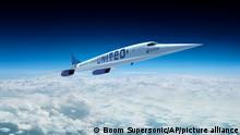 3d Rendering | United Airlines Supersonic Jet
