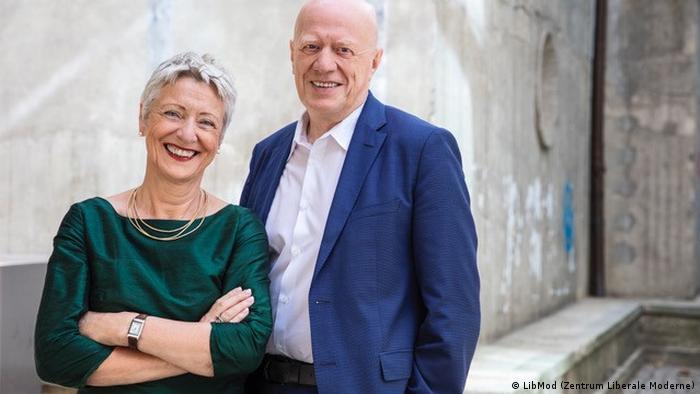 Ralf Fücks and Marieluise Beck