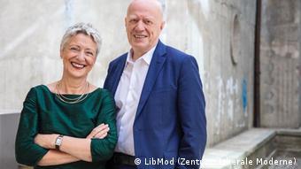 Основатели Центра либеральной современности Марилуизе Бек и Ральф Фюкс