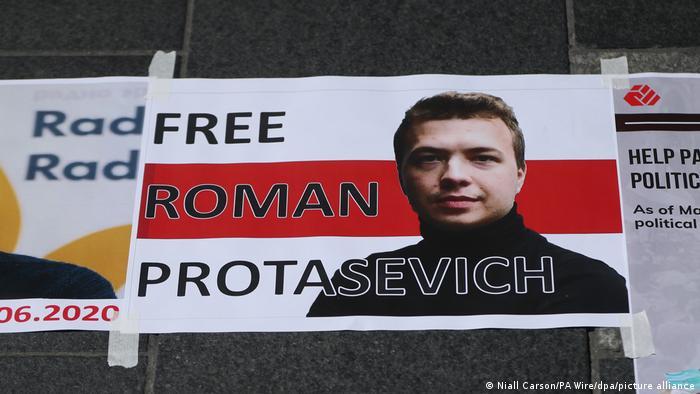 Verhafteter Journalist Roman Protassewitsch in Belarus - Proteste in Irland -