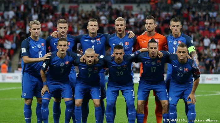 EURO2020 Fußball Mannschaft Slowakei
