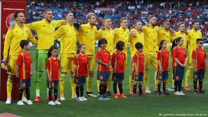 EURO2020 Fußball Mannschaft Schweden