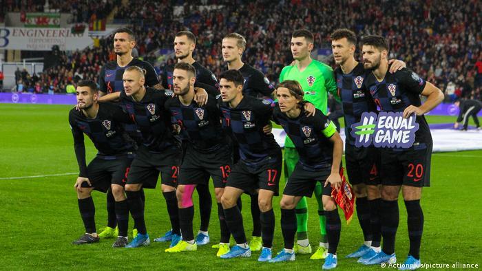 EURO2020 Fußball Mannschaft Kroatien