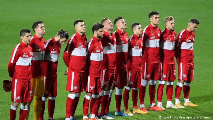 EURO2020 Fußball Mannschaft Polen