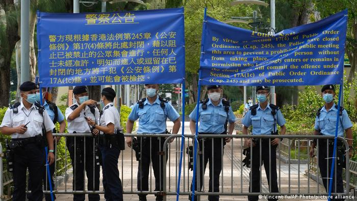 Hongkong   Jarestag Tiananmen Massaker