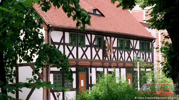 Канторхаус - самый старый сохранившийся фахверковый дом в Бернау