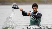 Kanu-Rennsportler Saeid Fazloula Iran Olympia