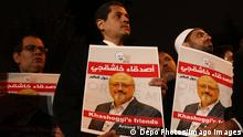 Türkei Demonstration für Jamal Khashoggi