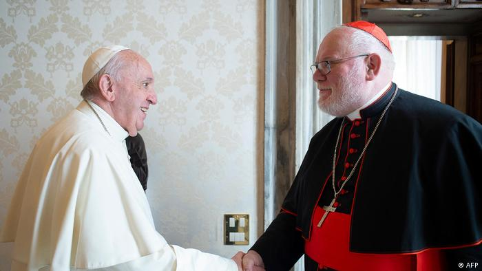 Papst Franziskus und Kardinal Marx