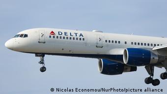 Самолет авиакомпании Delta Airline