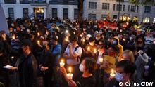 Tiananmen Vigil in London