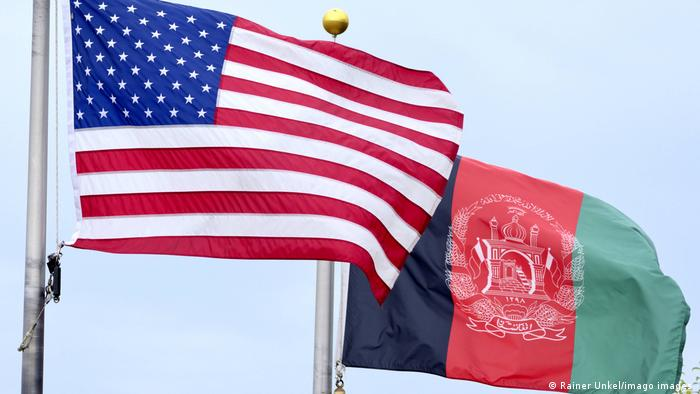 Symbolbild Fahne USA Afghanistan