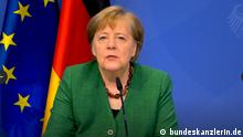 Screenshot Bundeskanzlerin Merkel Anpsrache Video Tag der Umwelt