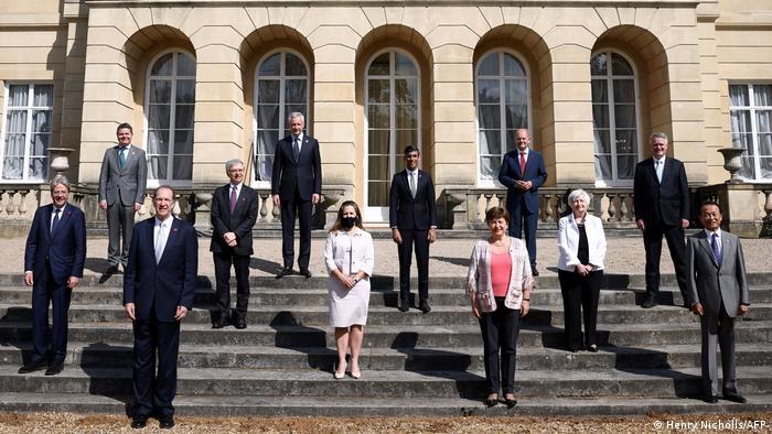 London | G7 | Treffen der G7 im Lancester House